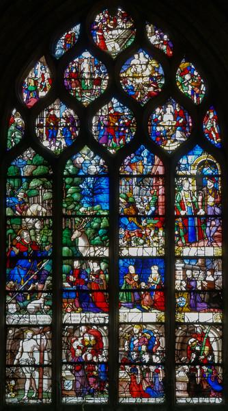 Beauvais, Saint-Etienne Church, The Story of Saint-Eustace