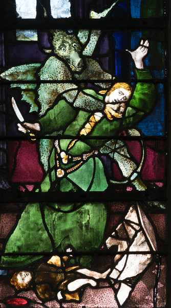 Beauvais, Saint-Etienne Church, The Legend of Saint-Claude