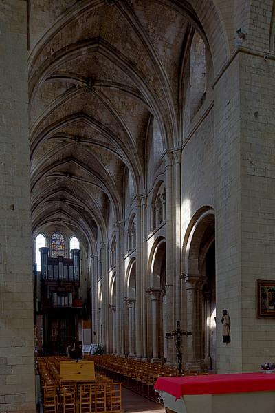 Beauvais Saint-Etienne Church Nave Elevation
