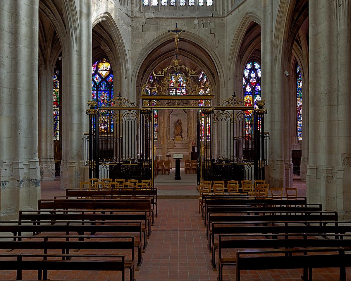 Beauvais Saint-Etienne Church Choir