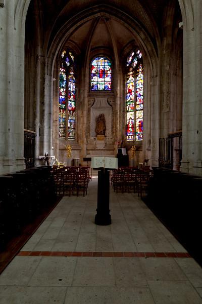 Beauvais  Saint-Etienne Church Central Chapel