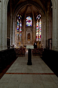 Beauvais  Saint-Etienne Church Central Chapel