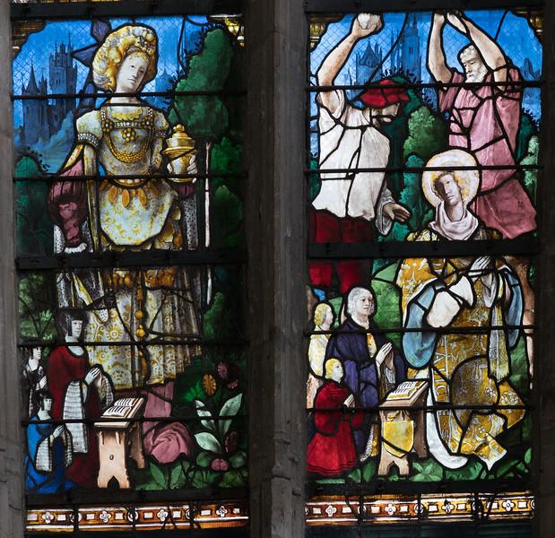 Beauvais ,Saint-Etienne - Saint Barbara and Saint Stephen