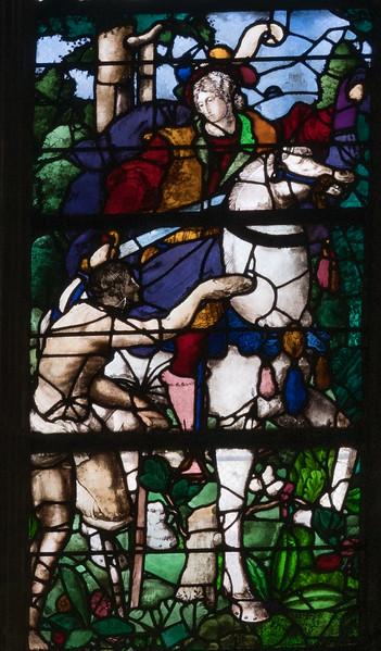 Beauvas, Saint-Etienne Church - Saint-Martin Cutting his Cloak