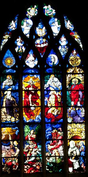 Beauvais Saint-EtienneChurch Last Judgment (16C)