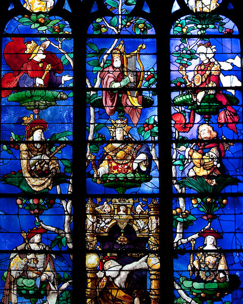 Beauvais, Church of Saint-Etienne Tree of Jesse