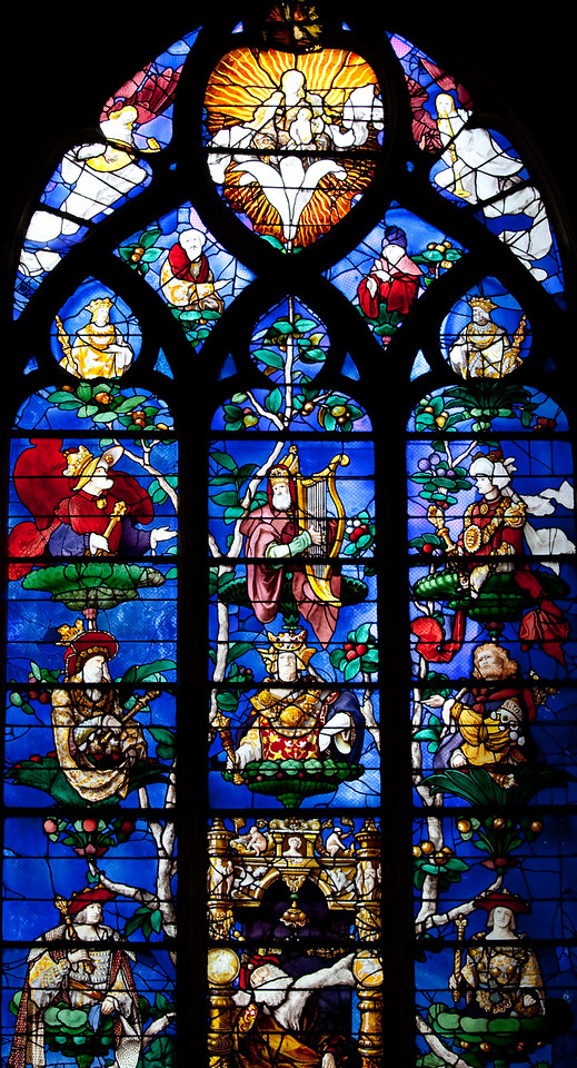 Beauvais Church of Saint-Etienne - The Tree of Jesse