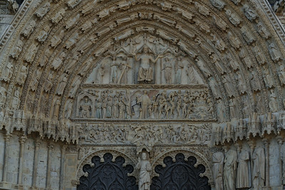 Bourges, Saint Stephen Cathedral Last Judgment