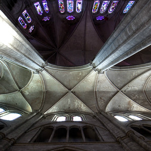Bourges, Saint Stephen Cathedral Ambulatory Vault