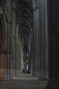 Bourges, Saint Stephen Cathedral Inner Aisle