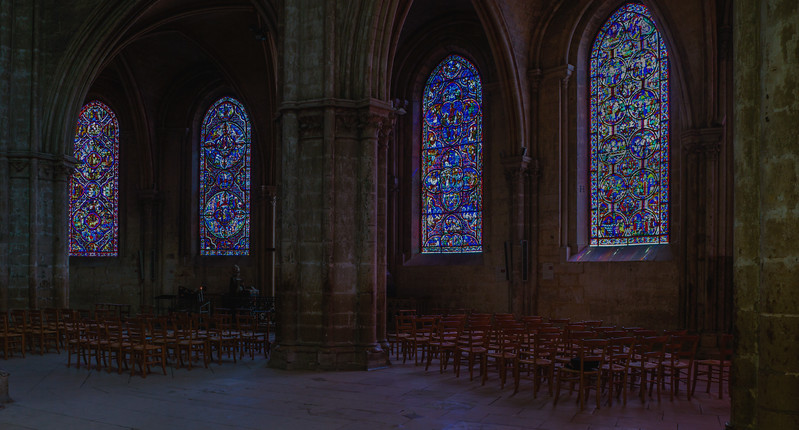 Bourges, Saint Stephen Cathedral Ambulatory Windows