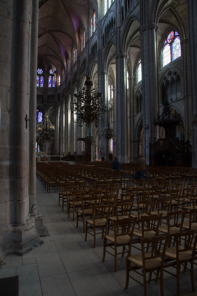 Bourges, Saint Stephen Cathedral Nave Arcade