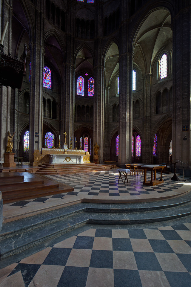 Bourges, Saint Stephen Cathedral Altar