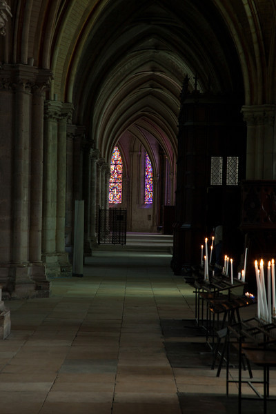 Bourges, Saint Stephen Cathedral Ambulatory Aisle