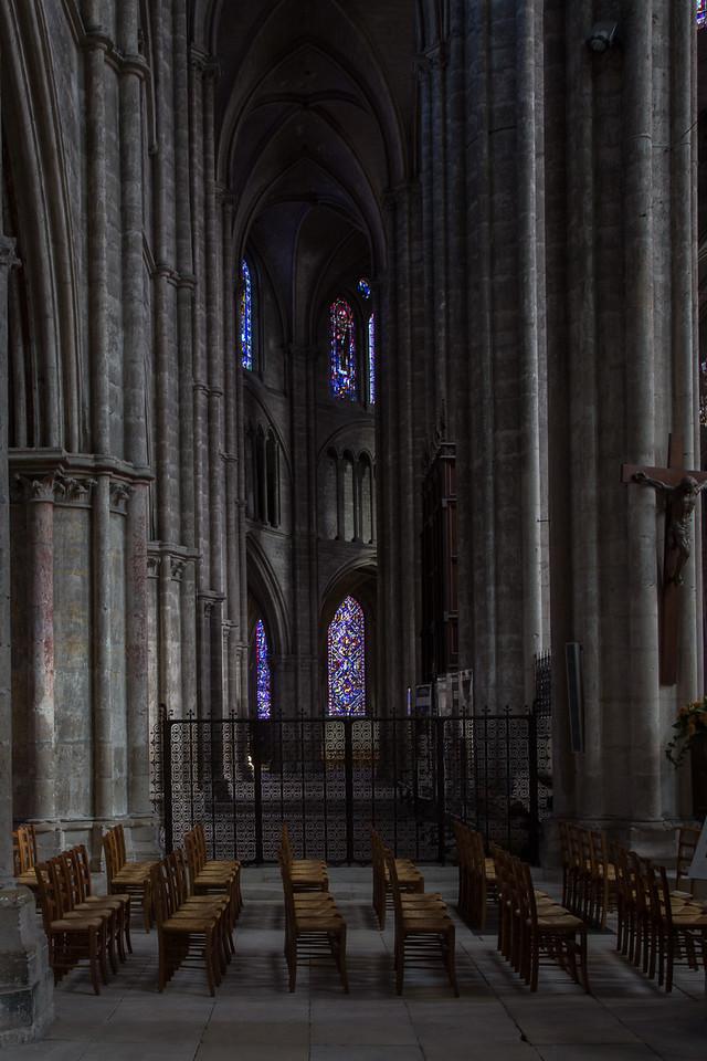 Bourges, Saint Stephen Cathedral Ambulatory  Aisle