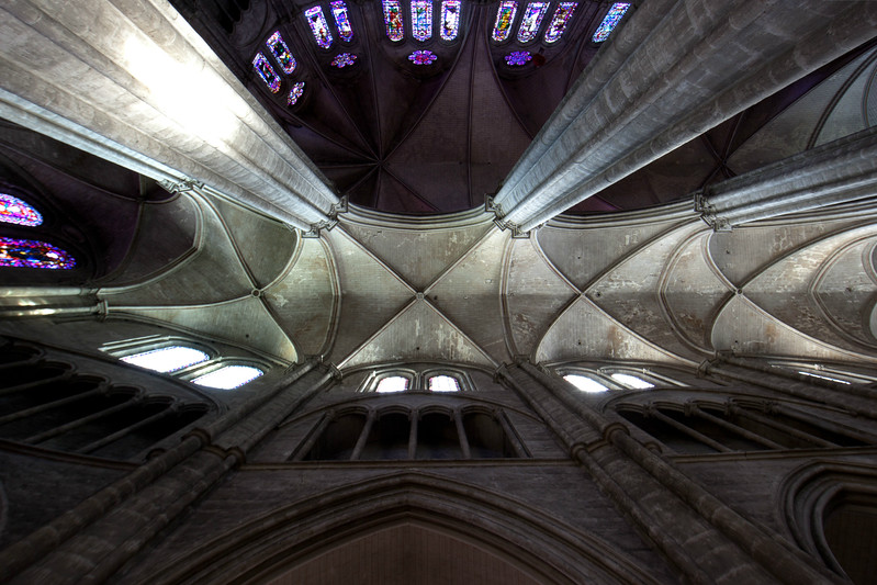 Bourges, Saint Stephen Cathedral Ambulatory Vaults