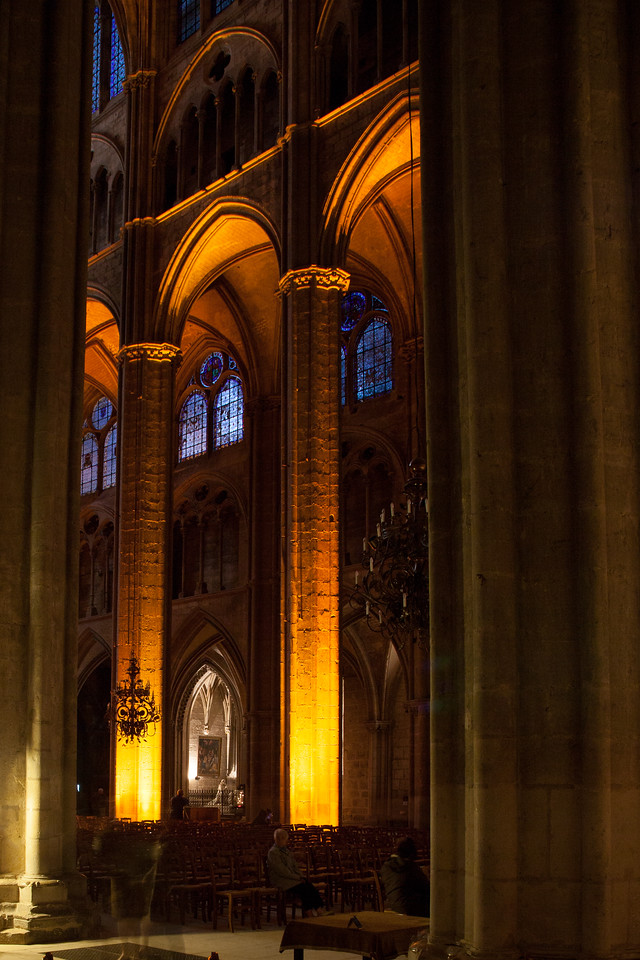 Bourges, Saint Stephen Cathedral Nave Arches