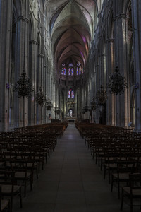Bourges, Saint Stephen Cathedral Nave and Choir