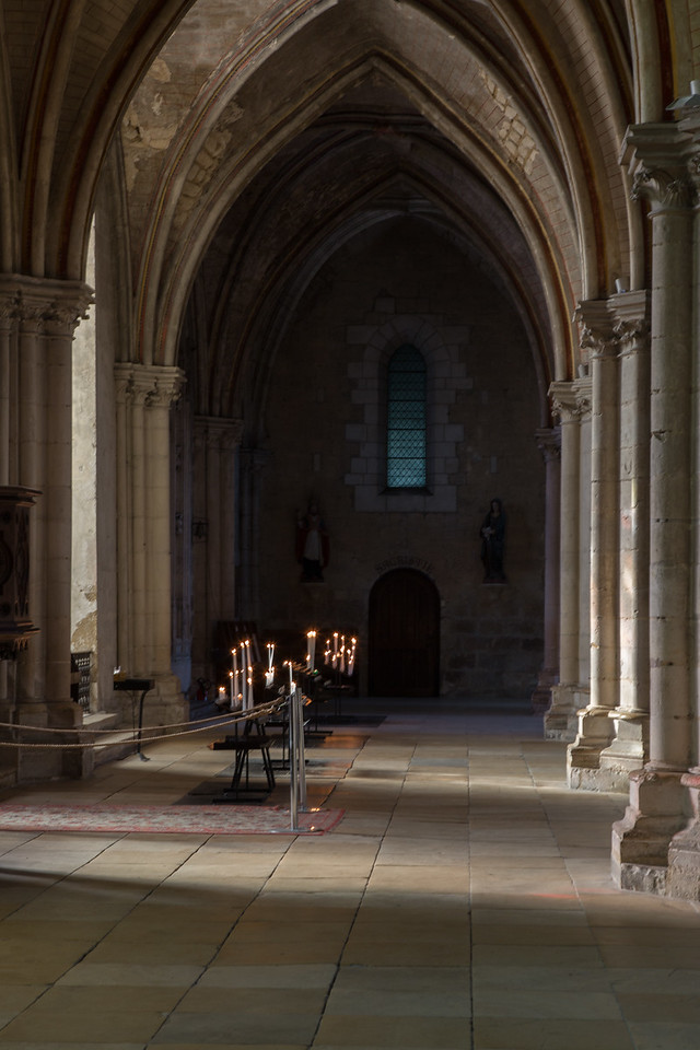 Bourges, Saint Stephen Cathedral Outer Aisle