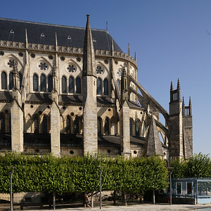 Bourges Cathedral Chevet