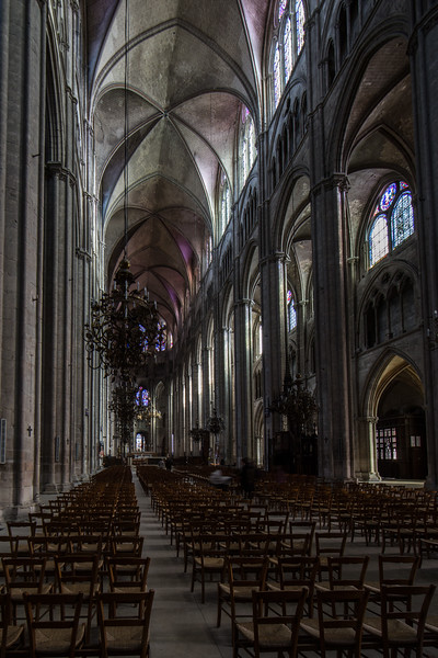 Bourges, Saint Stephen Cathedral Nave