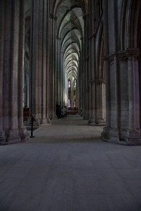 Bourges, Saint Stephen Cathedral Inner South Aisle