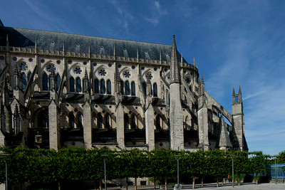 Bourges Cathedral South Flank