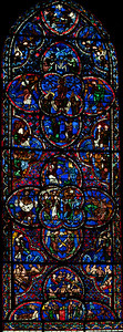 Bourges Cathedral - The Last Judgment Window