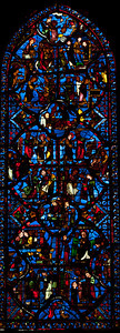 Bourges Cathedral - The Saint-Thomas Window