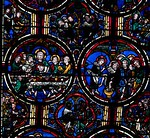 Bourges Cathedral, The Passion, The Last Supper and Washing the Feet