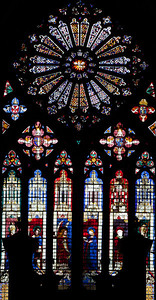 Bouges Cathedral West Facade Rose Window