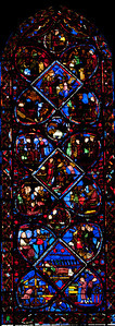 Bourges Cathedral - The Story of Joseph Window