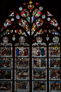 Bourges Cathedral, The Life of Saint-Denis