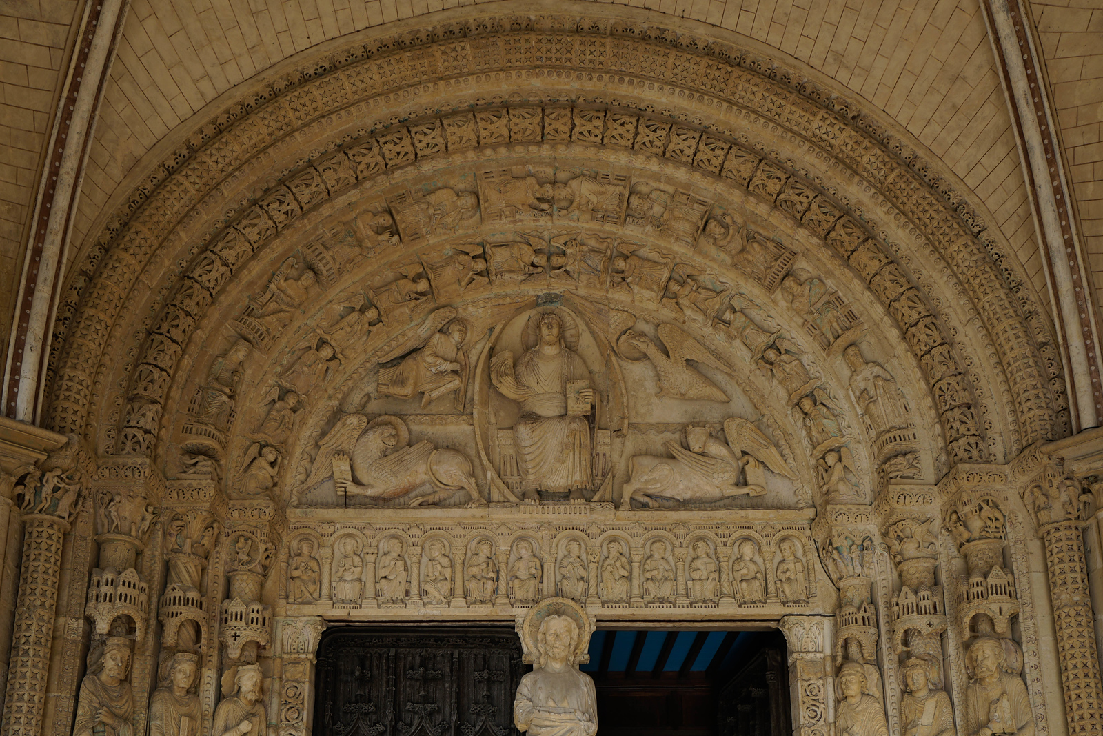 Bourges Cathedral South Porch Tympanum