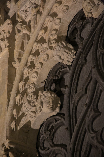 Bourges Cathedral West Facade Archivolt Figures