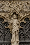 Bourges Cathedral Christ of The Last Judgment