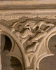 Bourges Cathedral West Facade Spandrel  - Men and Beasts Drowning in the Flood