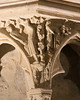 Bourges Cathedral West Facade Spandrel - Lamech.Hunting