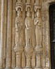 Bourges Cathedral South Porch Figures