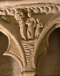 Bourges Cathedral West Facade Spandel Noah and Family
