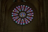 Braine Abbey Transept Rose Window