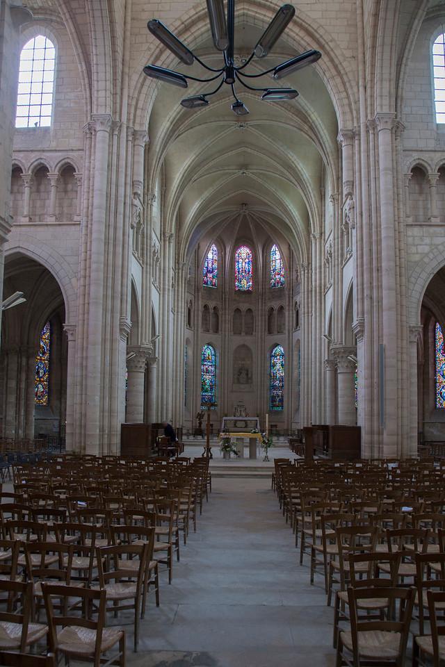 Braine , Saint-Yved Abbey Nave and Choir