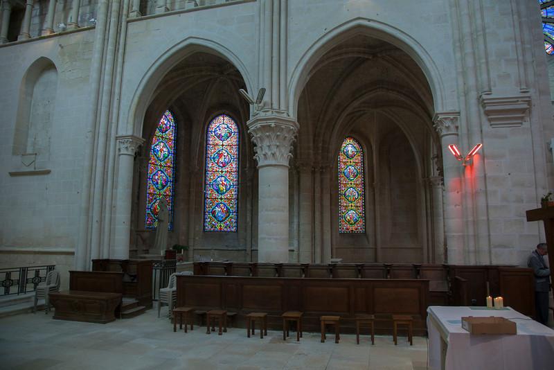 Braine, Saint-Yved Abbey Side Chapels