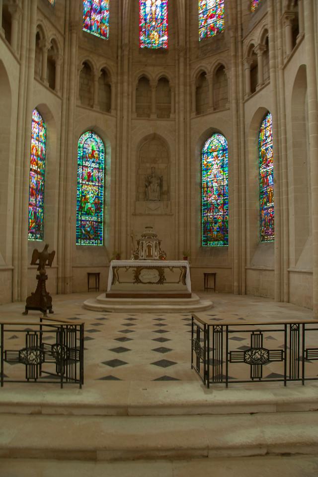 Braine, Saint-Yved Abbey Choir