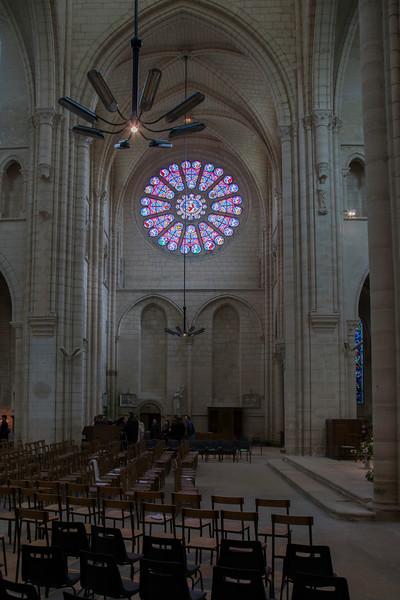 Braine, Saint-Yved Abbey Transept Rose Window
