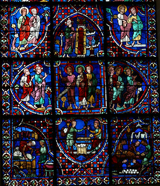 Chartres Cathedral - The Apostles Window