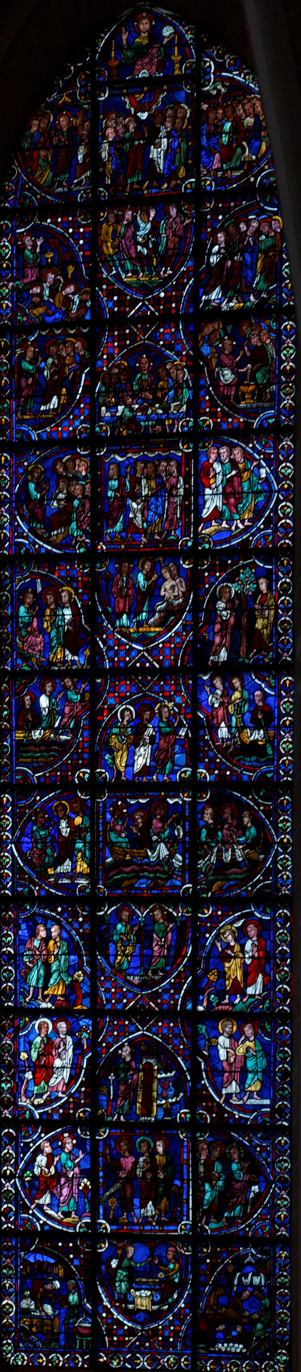 Chartres Cathedral, Saint Pantaléon Window