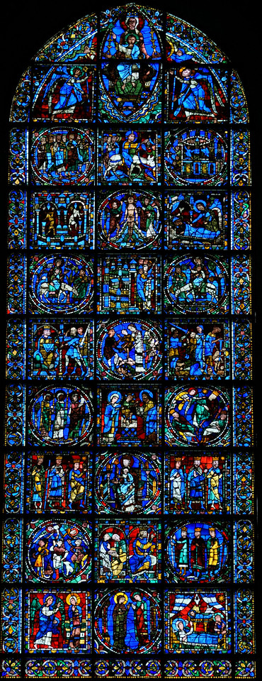 Chartres Cathedral, The Life of Christ