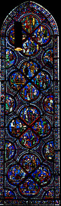 Chartres Cathedral - The Story of Saint-Nicholas (13C)