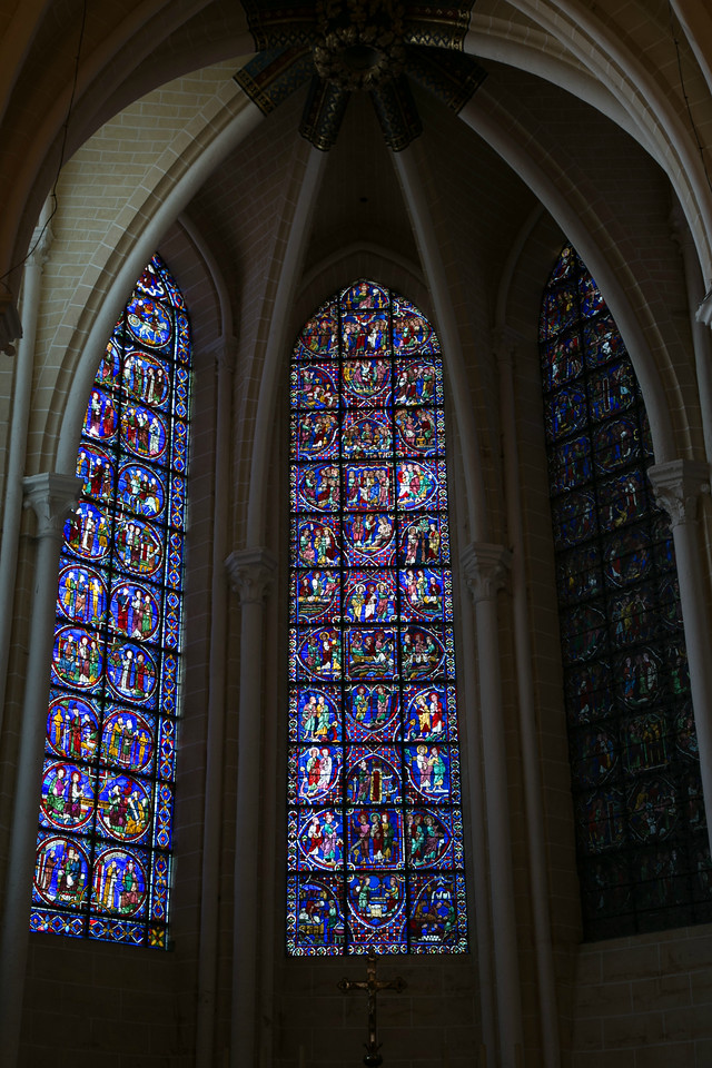 Chartres Cathedral Ambulatory Chapel Windows